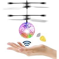 Diswoe Pelota voladora Flying Ball Crystal Intermitente LED
