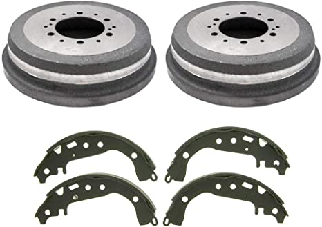 CERAMIC Brake Pads AND Shoes 2 Sets Fits Toyota Tundra 2003-2006 FRONT//REAR