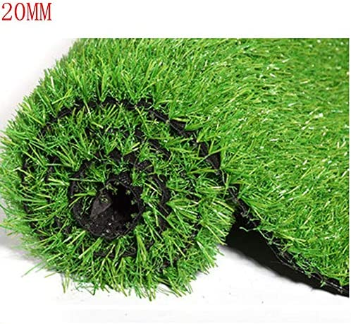 XIAODONG 20MMパイルの高さ 暗号化 厚くする 人工芝/カスタマイズ可能なサイズ/バルコニー/屋外装飾/ペット/多機能 庭の芝 春の草 (Size : 2*6m)