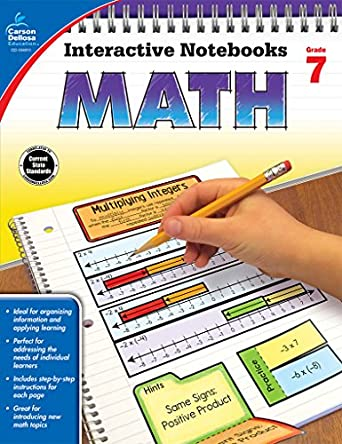 Counting Number worksheets grade 7 math probability worksheets : Math, Grade 7 (Interactive Notebooks): Katie Kee Daughtrey ...