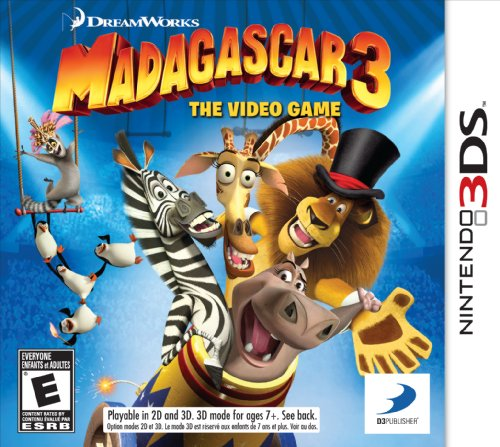 Madagascar 3: The Video Game 3DS - Nintendo 3DS Standard Edition