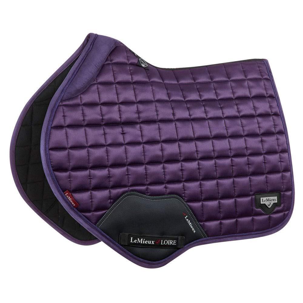 LeMieux Loire Satin Full Size Close Contact Square - Blackcurrant Horse Health Limited