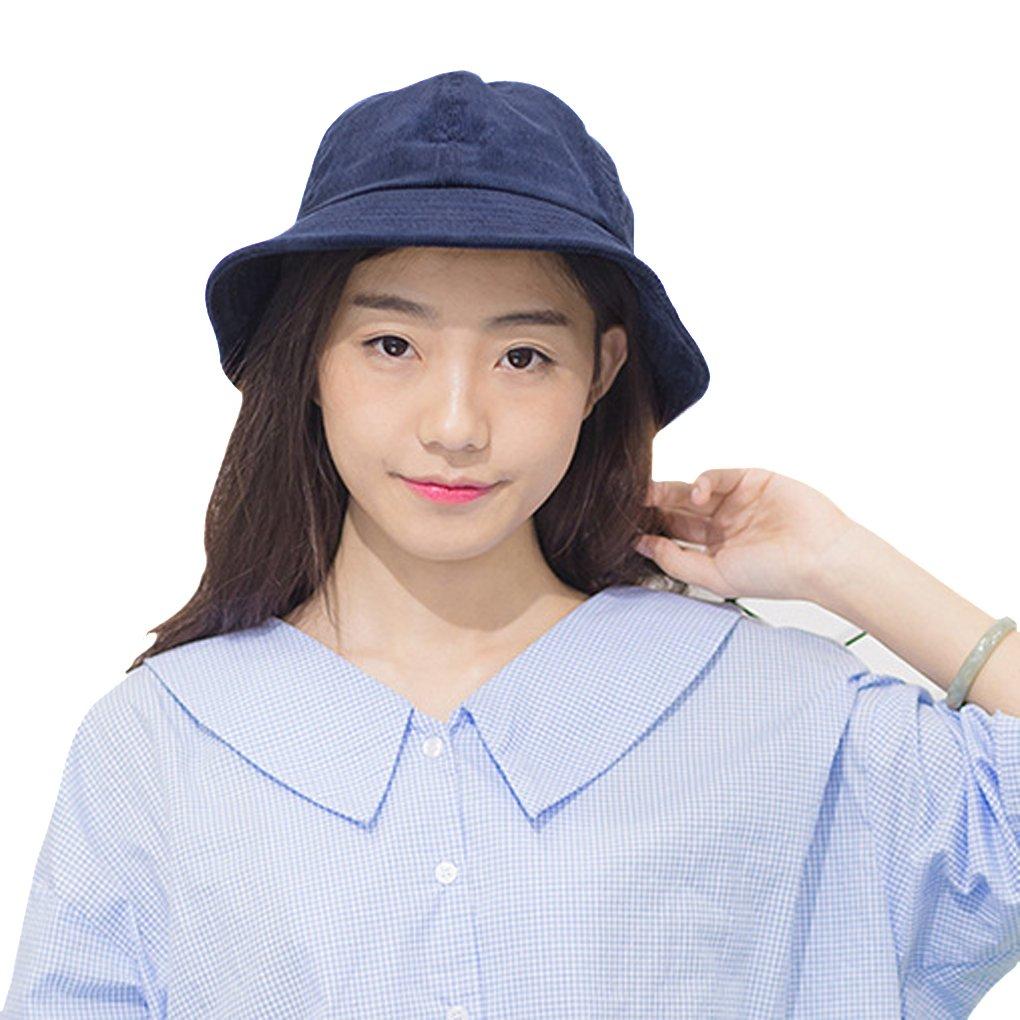 Amazon.com  Fashion Corduroy Boonie Bucket Hat for Women Ladies ... 81b423fb96