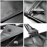 Arvok 13 13.3 Inch PU Leather Laptop Bag With