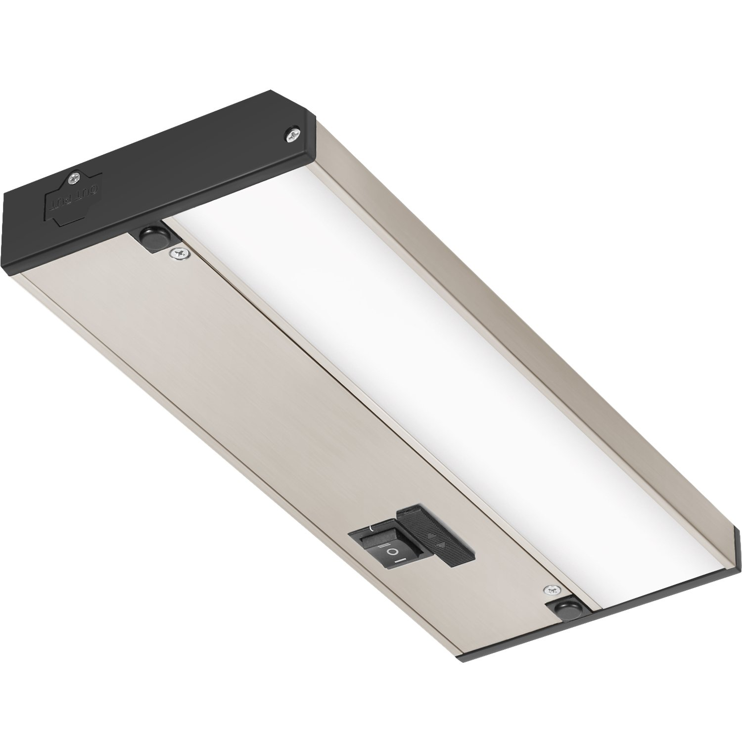 """GetInLight 3 Color Levels Dimmable LED Under Cabinet Lighting 32/"""" White"""