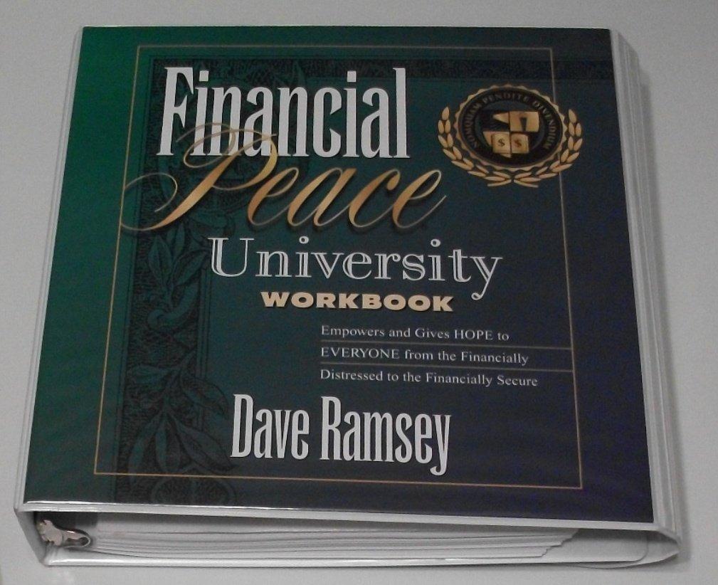 Dave Ramsey's Financial Peace University 8 Cassette Kit W/book ...