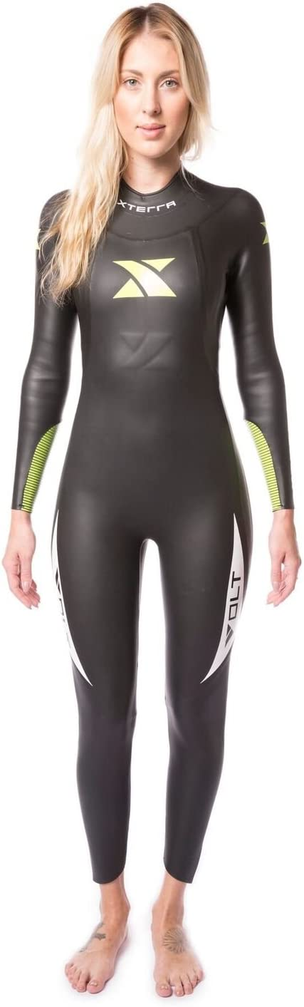 Xterra Wetsuits – Women s Volt Triathlon Wetsuit – Full Body Neoprene Wet Suit 3mm Thickness Designed for Open Water Swimming – Ironman USAT Approved
