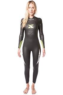 Xterra Wetsuits - Women s Volt Triathlon Wetsuit - Full Body Neoprene Wet  Suit (3mm Thickness 4bf364ab1