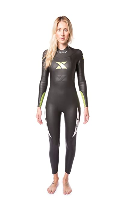 c977a02b94 Xterra Wetsuits - Women's Volt Triathlon Wetsuit - Full Body Neoprene Wet  Suit (3mm Thickness) | Designed for Open Water Swimming - Ironman & USAT ...
