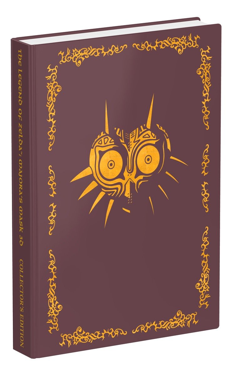 fe72f80f6 The Legend of Zelda Majora s Mask 3D Collector s Edition  Prima Official  Game Guide - Livros na Amazon Brasil- 9781101898437