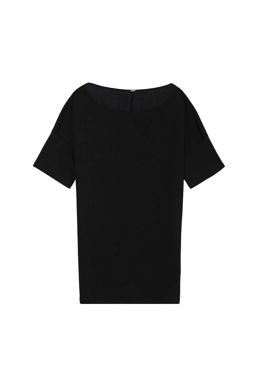 Gina Laura Shirt mit Falten am Ausschnitt beige NEU