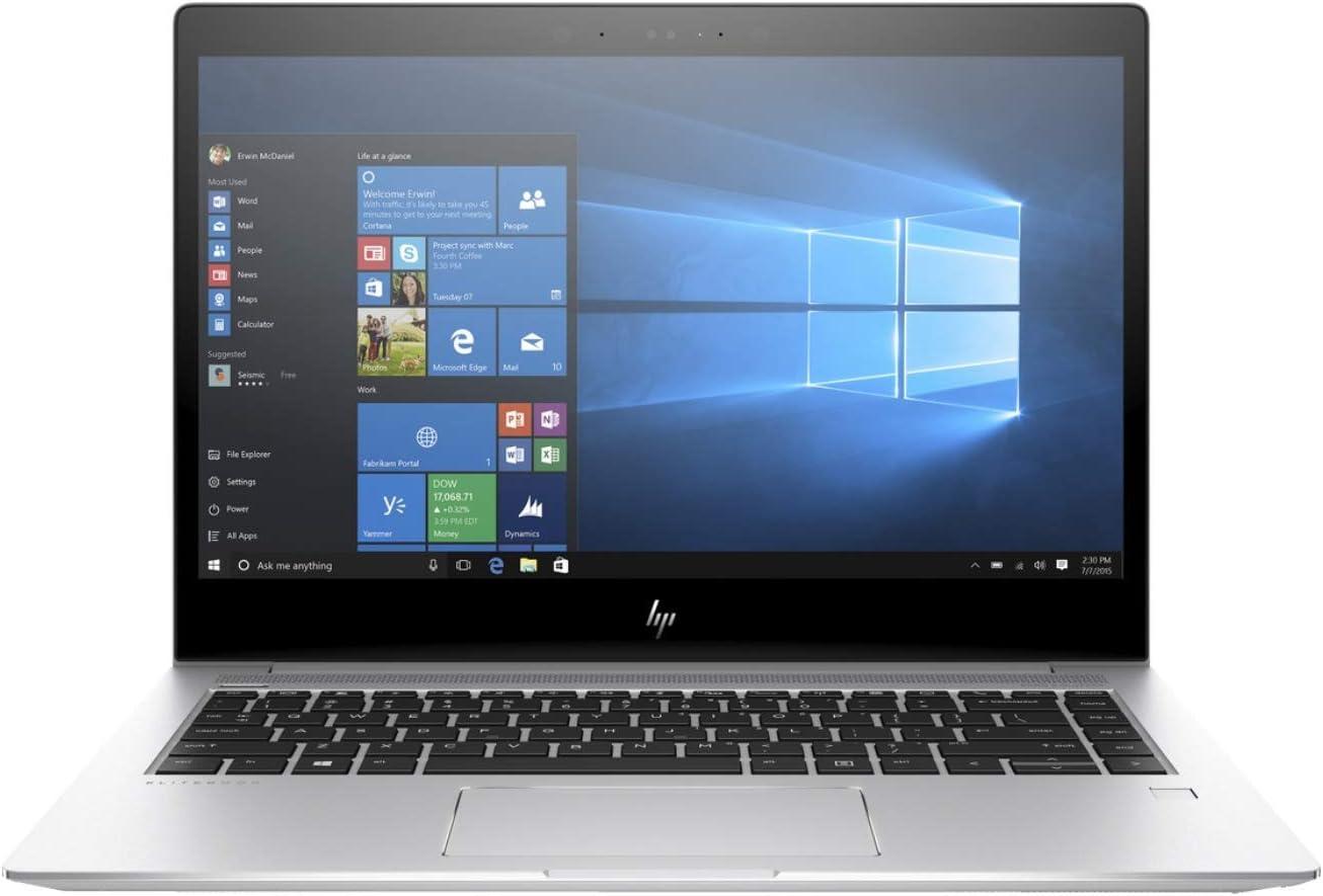 "HP 2XM86UT#ABA Elitebook 1040 G4 14"" Notebook - Windows - Intel Core i5 2.6 GHz - 16 GB RAM - 256 GB SSD, Natural Silver/Diamond Cut Design"
