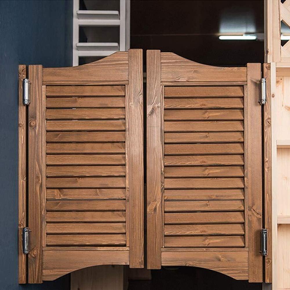 Size : 900cmx90cm Anpassbar Guowei Jalousie Saloon Schwingt/ür Cafe Bar K/üche Eingang Restaurant Drinnen Verwenden Holz Raumteiler Scharniere Inbegriffen Rustikal