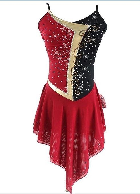 6d517d9b3140b Heart&M Ice Skating Dress For Girls And Women, Handmade Figure ...