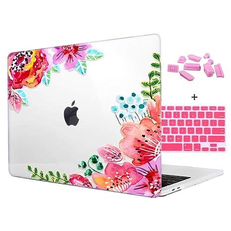 Amazon.com: Colorful Flores plactis carcasa rígida para ...