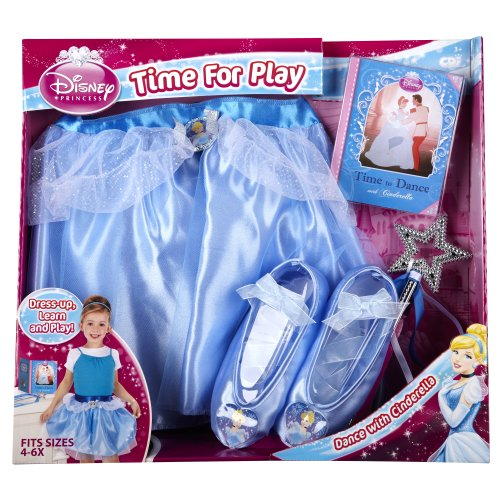 [Disney Princess - Time To Dance with Cinderella] (Cinderella Dress Up)