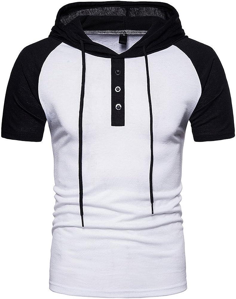 SPE969 Men's Slim-fit Hoodie,M~3XL 5 Colors Long Sleeve Autumn Winter Casual Sweatshirt Hoodies Top Blouse Tracksuits