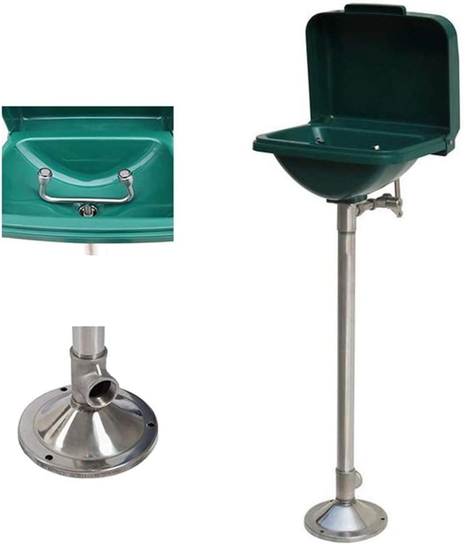 Ducha Lavaojos de Emergencia Sistema de ducha estación ojos y la cara de lavado Lavadora acero inoxidable con grandes tirón Tazón Tipo válvula de conmutación de diseño, rápida y fácil operación 1127