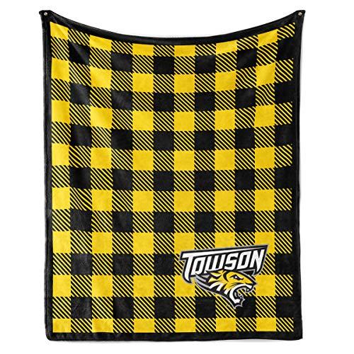 Official NCAA Towson University Tigers - Fleece Blanket - ()