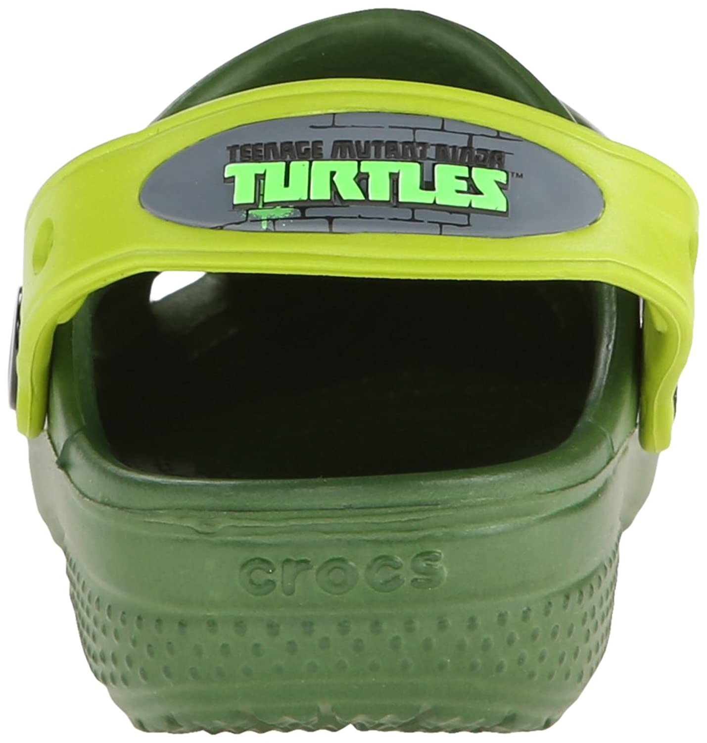 Amazon.com | crocs CC TMNT Clog (Toddler/Little Kid/Big Kid), Seaweed/Volt  Green, 4 M US Toddler | Clogs & Mules