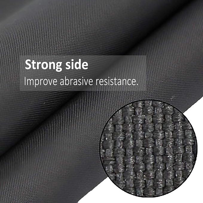 Cubierta para parrilla de barbacoa de Oofit; impermeable, color negro: Amazon.es: Jardín