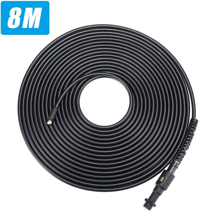 KKmoon 10m Pressure Cleaning Hose Tube Cleaner Pressure Washer Sewer Drain Cleaning Hose