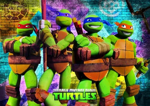 Clementoni 26913 - Puzzle Tortugas Ninja TMNT (60 piezas ...