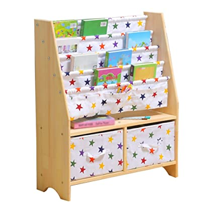 4a2f19103820 Amazon.com: Bookcases Home Office Furniture Cartoon Wooden Kid's ...