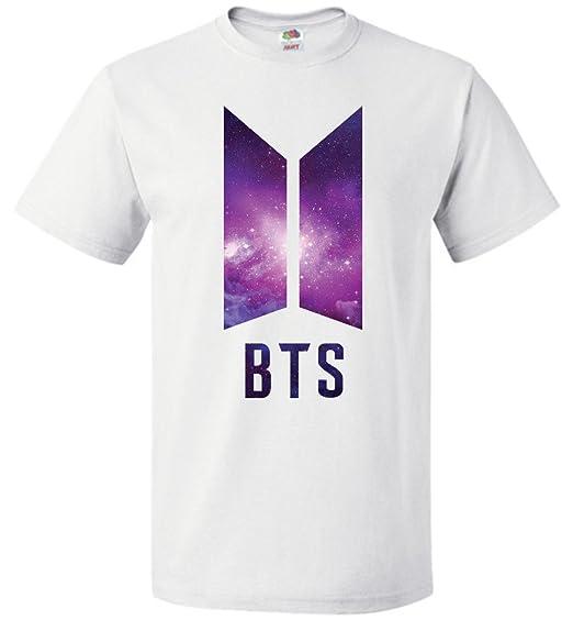 Amazon Com The Incredible Bts Galaxy Logo T Shirt Rm Jin Suga J
