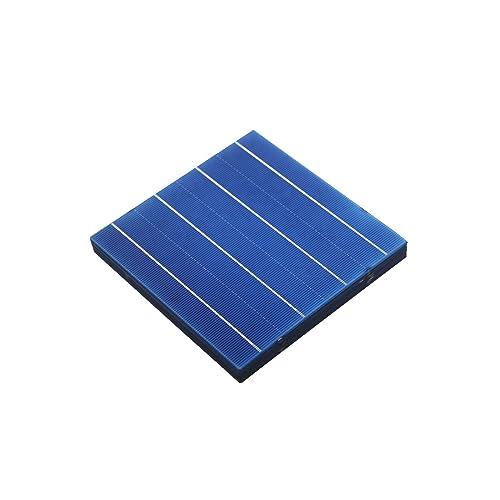 VIKOCELL 4.5W 156 x 156MM Poly Solarzelle für DIY Solarmodul (Packung mit 10)
