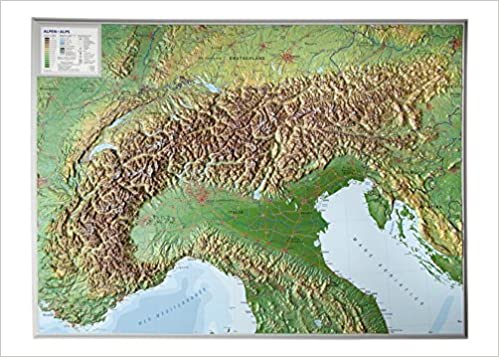 Alps relief wall map georelief amazon georelief alps relief wall map georelief amazon georelief 4280000002167 books sciox Gallery