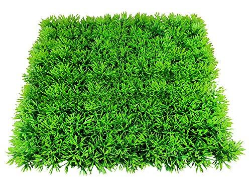 Healthy Clubs Künstliche Wasserpflanze/Gras/Rasen für Aquarium-Landschaft