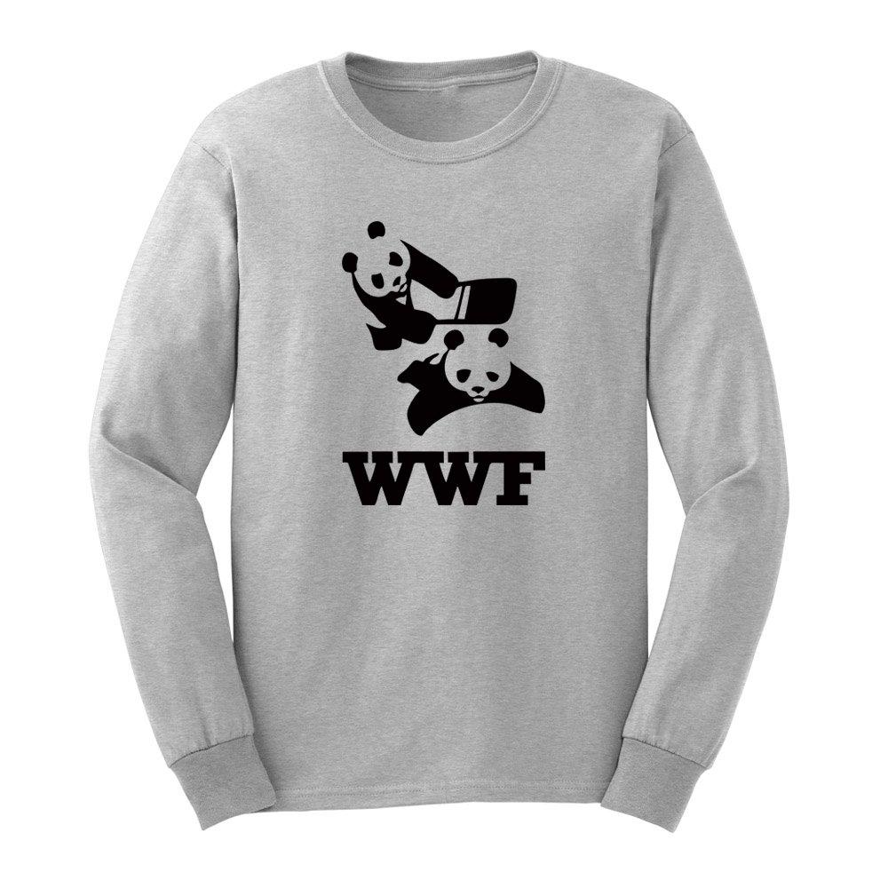 S Wwf Panda Funny Tshirts Casual Tee