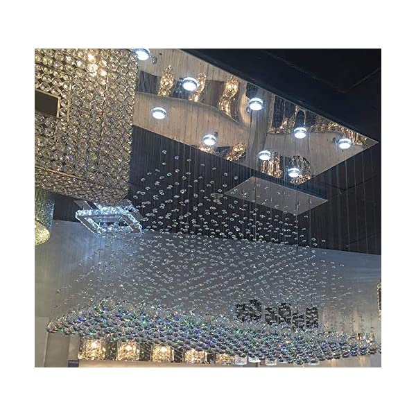 Glass Ceiling Chandelier