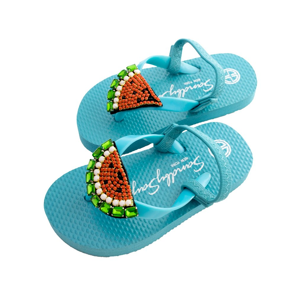 WATERMELON – BABY / KIDS SANDAL (XL, Sky Blue)