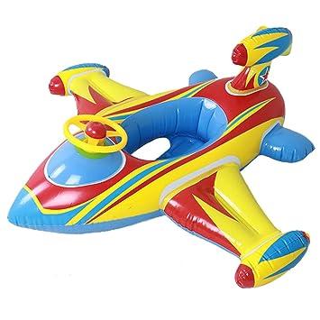 Amazon.com: Botitu Flotador hinchable para bebé con cuerno ...
