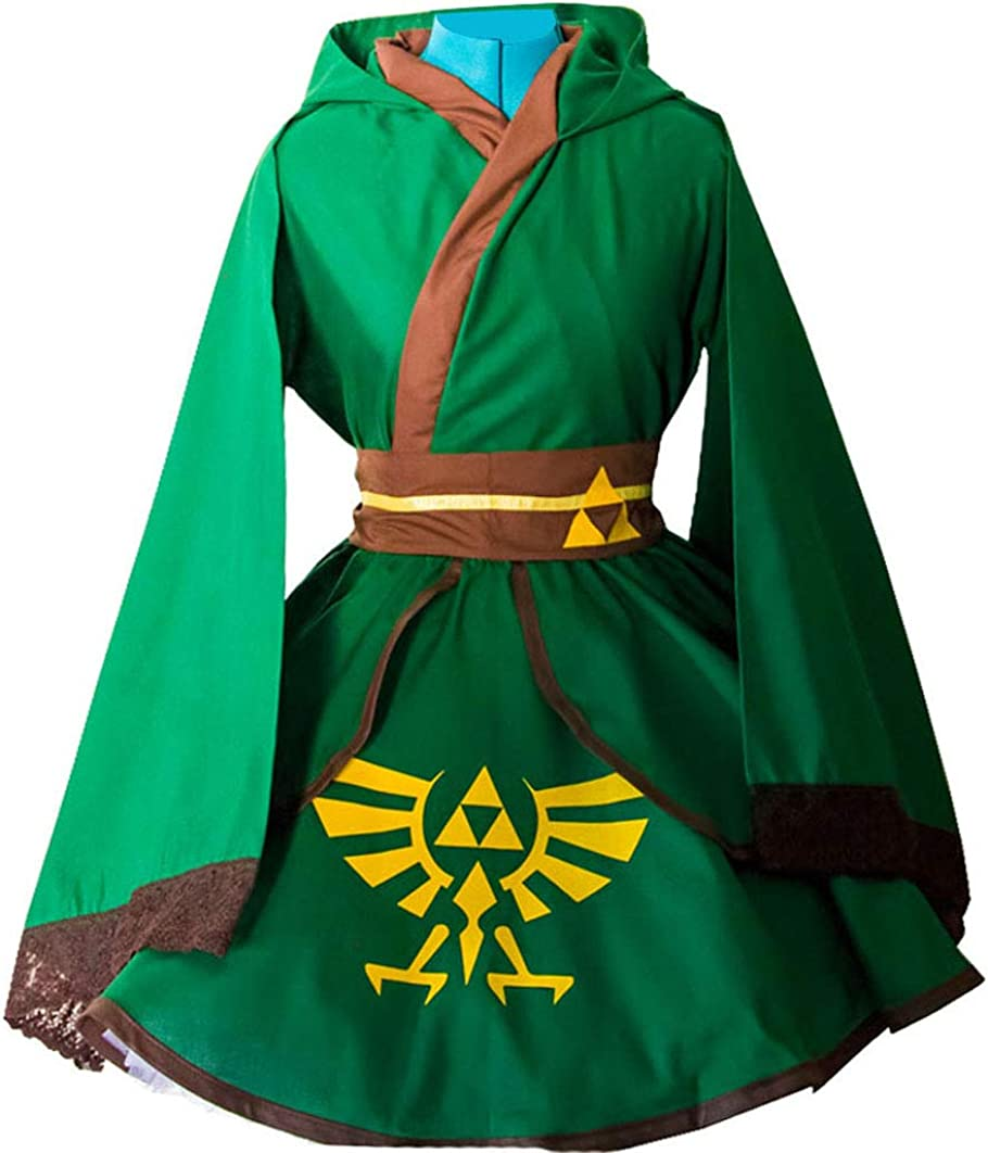 The Legend of Zelda Link Uniform Cosplay Costume Outfit Suit