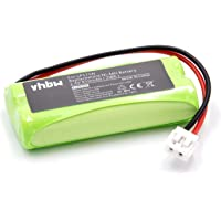 vhbw Batería NiMH 850mAh (2.4V) para Babyphone, monitor