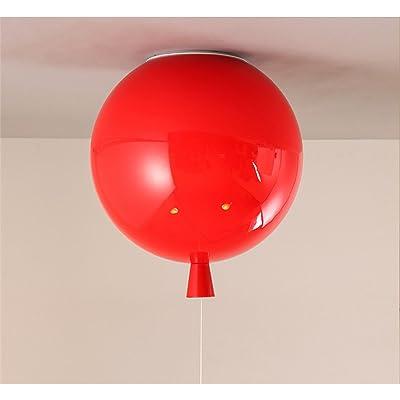 ANGEELEE Ballon coloré en option d'éclairage plafonnier led créatifs chambres jardin d'enfants dessin animé l'éclairage de la salle ronde
