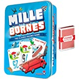 Mille Bornes Classic Card Game w/Free Deck of Standard Playing Cards