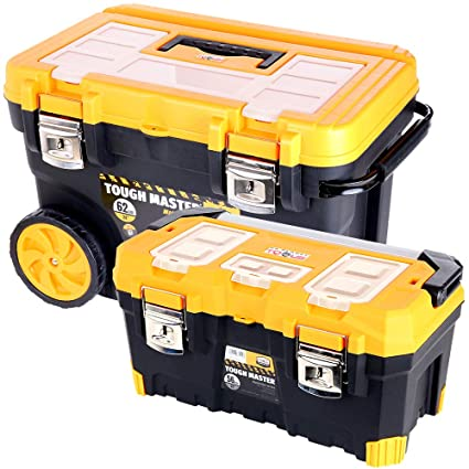 Tool Chest Tough Master Professional Mobile  28/'/' on Wheels With Tote Tray