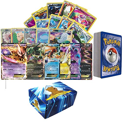 100-Assorted-Pokemon-Cards-with-Foils-and-2-Ultra-Rare-Legendary-Pokemon-Comes-in-Custom-Golden-Groundhog-Card-Storage-Box