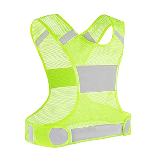 822fe4389c33 child safety New Best Reflective Running Vest w Pocket Recommended Safety  Gear - Great for Biking