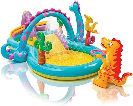 Juegos hinchable Intex Dinosaurios Play Center, con piscina y ...