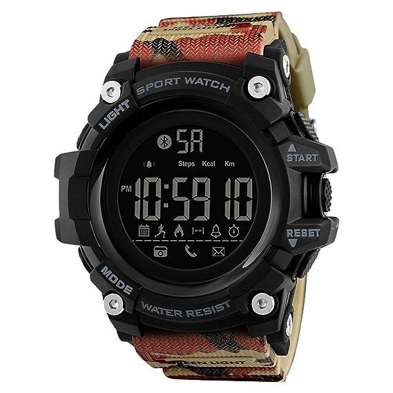 smartwatches Hombre,LUXIAO Reloj Multifuncional con recordatorio ...