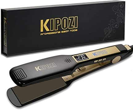 KIPOZI Professional - The Best Hair Straightener With Wide Plates