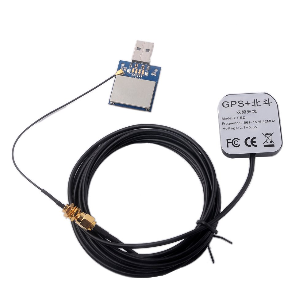 Módulo de Antena USB GPS GLONASS Beidou para Arduino Pixhawk IPEX ...