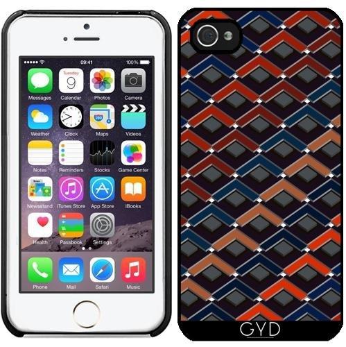Coque pour Iphone 5/5S - Zigzag Coloré Karo-étapes by pASob