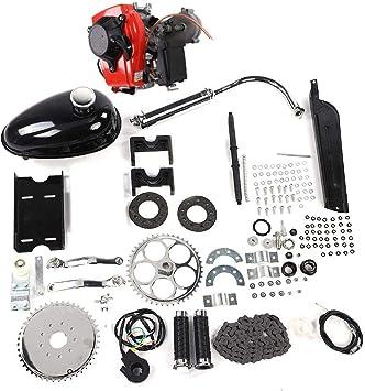 Ever Kit de Motor de Motor de Gas, 49CC Kit de Motor de Motor de Gasolina de 4 Tiempos para Motor de modificación de Bicicleta motorizada Kit de Motor de Motor: Amazon.es: