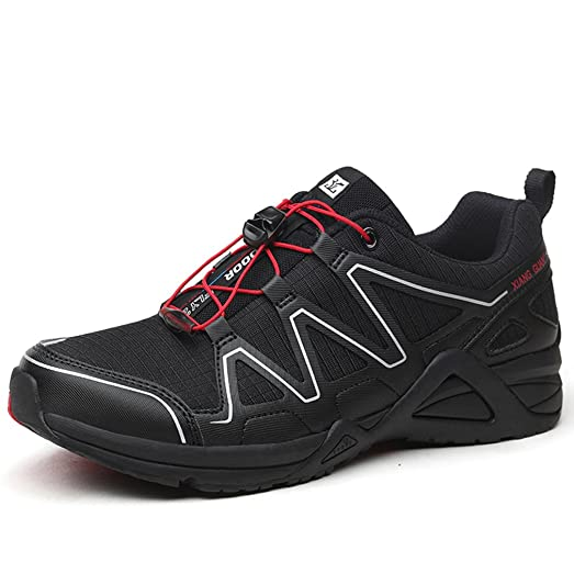 Mens Sneaker Breathable Lightweight Lace-up Low-Top Sports Athletic Shoes